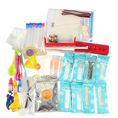 Kybers Children's DIY Science Experiment Toy Set Handmade Kit for Primary Lab Activity Birthday Boys Girls136 Types
