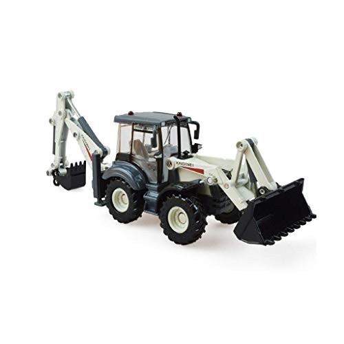 toy Boy Girl Child Car Modeleducational ToysModel Alloy Engineering Die-Casting 1 50 Two-Way Forklift Excavator Ornaments Simulation Model to Send Male Birthday Gift