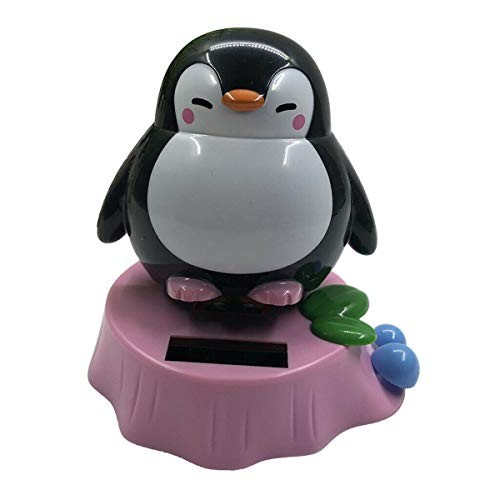 COMFORT INNOVATION Fun Solar Powered Dancing Animal Penguin Toys Home Car Decorative Ornaments Color – Style-G