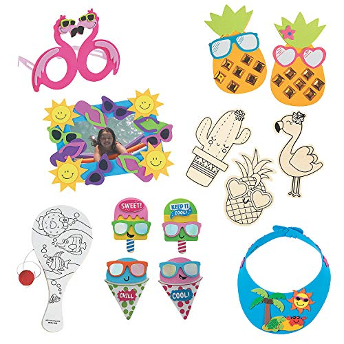 Summer Craft Boredom Buster Kit – Kits 96 Pieces