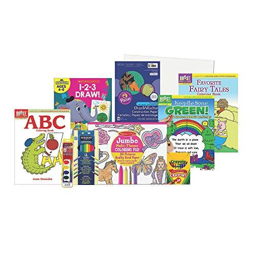 Fairy Tales & Fun Arts Crafts Boredom Buster Kit – Craft Kits 9 Pieces