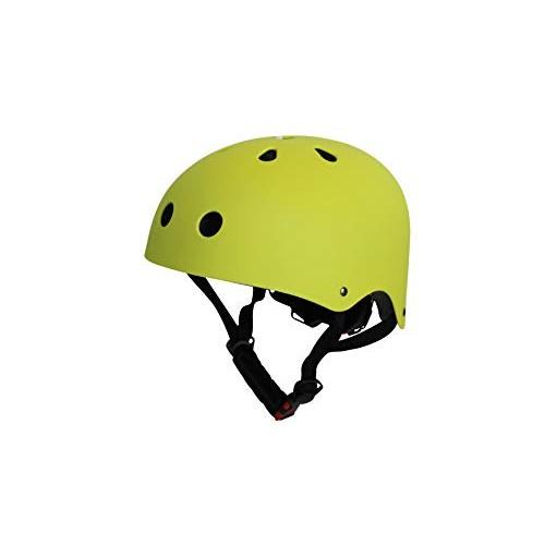 Bee Free Bike Scooter Skate Helmet for Kids 8-14 Size Medium Yellow  Adjustable