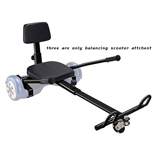 TOXOZERS Go Kart Hover Board Seat Attachment for Self Balancing Scooter Go Kart with