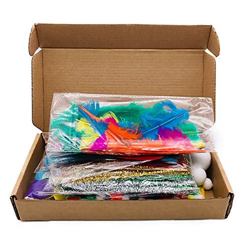 Outgeek Kids DIY Art Craft Kit Assorted Educational Toy Supplies Preschool