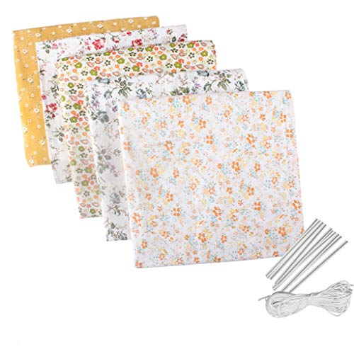 Kanku Dust Mask DIY Sewing Patchwork Material Accessories Craft Breathable Roof Making Kit Set A
