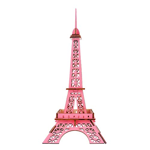 3D Wooden Puzzle Toy Eiffel Tower