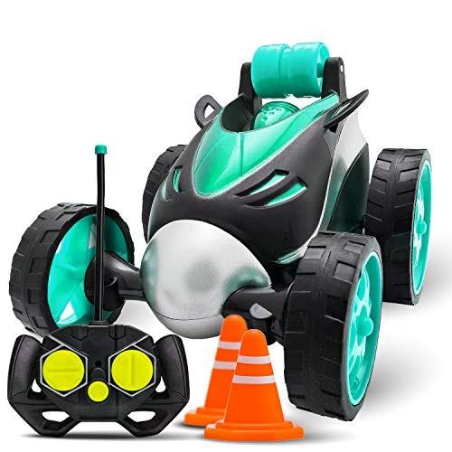Atlasonix Remote Control Car for Boys – RC Stunt Car Toy   4-Wheel Drive