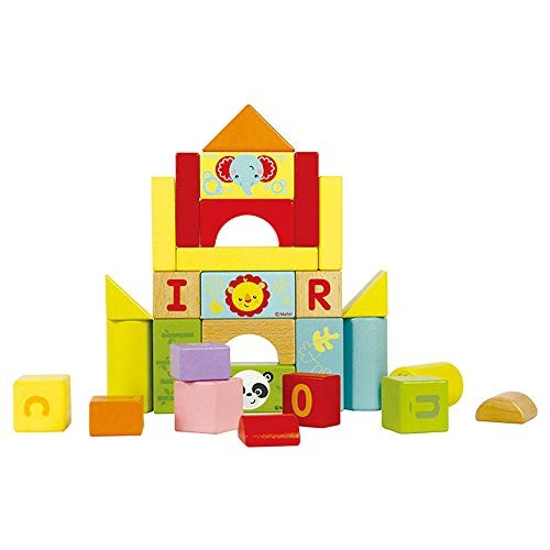 CCM Educational Toys 80 Tablets of Wooden Building Blocks Set Children's Early Education Parent-Child Interactive Px