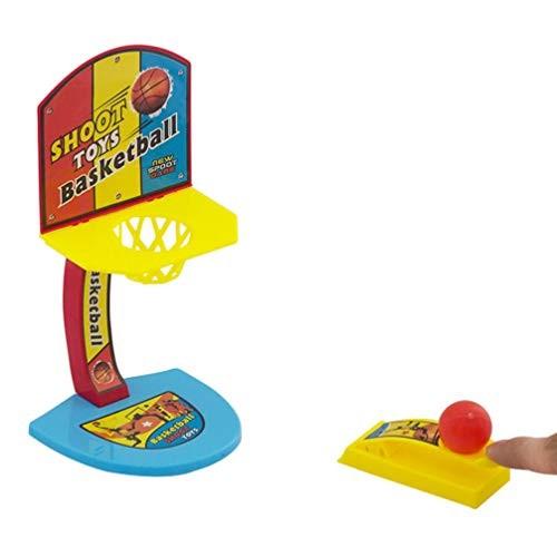 TOYANDONA 2pcs Basketball Shooting Game Desktop Table Basketball Games Basketball Hoop Set Fun Sports