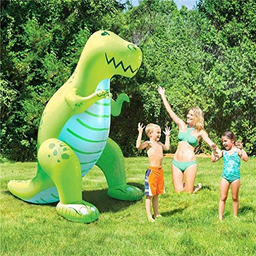 Mopoq Water Play Sprinkler Inflatable Dinosaur Kids Spray Water Toy Outdoor Party Summer Fun
