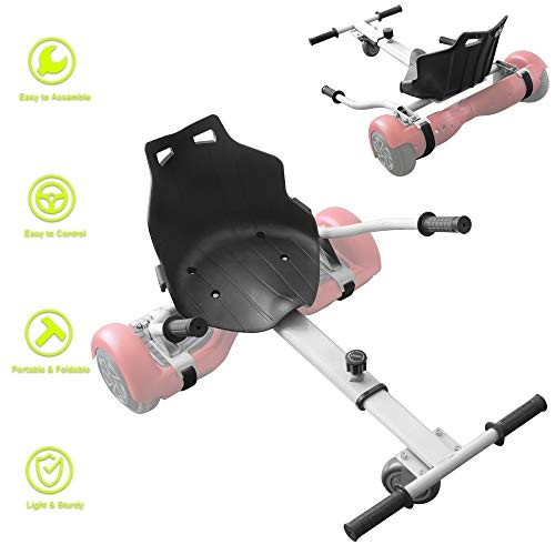 Hovercart Seat Attachment Holder for Self Balancing Scooter Hoverboard Adjustable Go Kart Fun