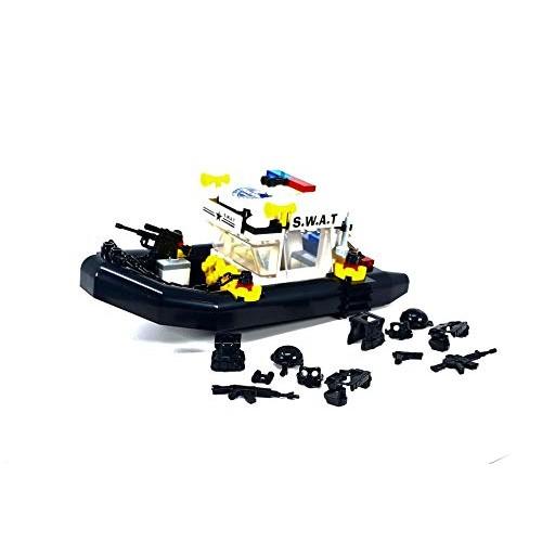 General Jim's Police Patrol Swat Toy Boat
