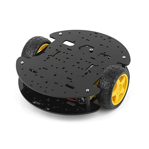 BONATECH Two Wheels Smart Car Chassis Tracking Obstacle Avoidance Robot with Encoder Speed Detailed Tutorial for Arduino UNO