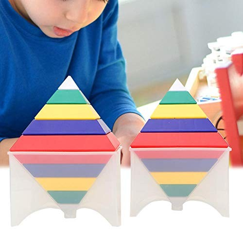 Oyunngs 3D DIY Child Building Blocks Kid Early Educational Wooden Interesting Toy for Infants Fine Motor Skills