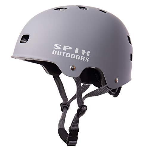 SPIX Skateboard Helmet ASTM and CE Certified Multi-Sport Cycling Skate BMX Bike Helmet for