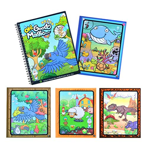 Coloring Books for Kids Animal Space Planet Graffiti Drawing Painting Preschoolers Children Early Educational Toys Animal Pattern