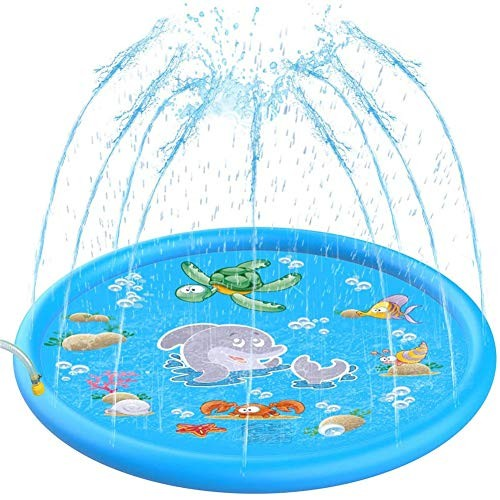 Large Outdoor Swimming Pool for Babies 68 Children Outdoor Water Sprinkler Toys Outdoor Swimming