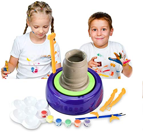 YUIO Pottery Wheel for Kids and Beginners Craft Kit Educational Toy DIY Toys