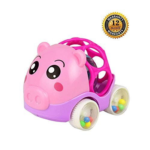 ZHFUYS Baby Toys for 3 to 24 MonthsRattle and roll carBaby Hand Grab Toy