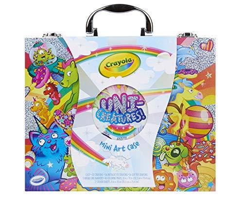 Crayola Mini Art Set with UniCreatures Kids Kit 100+ Pieces Ages 4 5 6 7