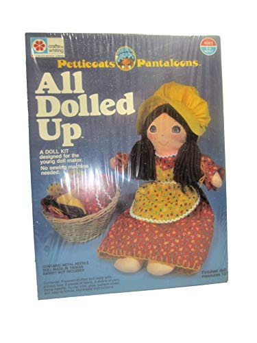 crafts by whiting 1978 A Doll Kit Designed for The Young Maker