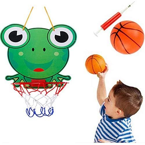 DW007 Mini Basketball Hoop Children Toys Suck Wall-Mounted Basketball Stand Kids Basketball Toddler Game