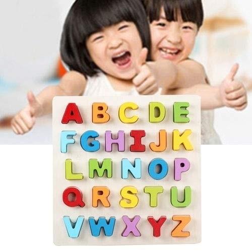 Intelligence Toys Great QZM-0023 Rainbow Children Early Education Wooden Building Blocks Parent-Child Interaction Educational Size 32323cm Color Color3