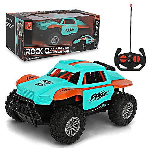 BeebeeRun Remote Control Car Off Road Monster Trucks for Boys – 1:16 High Speed