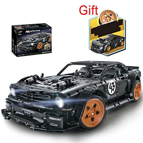 xSHION Car Building Kit 3145PCS MOC Blocks and Engineering Toy Compatible with All Major Brands Collectible Model Cars Vehicle Construction for Adults Kids