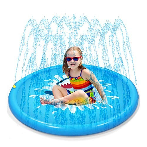 HXL Sprinkler Splash Pad Outdoor Children's Fountain Swimming Pool Wading Water Toys for Babies