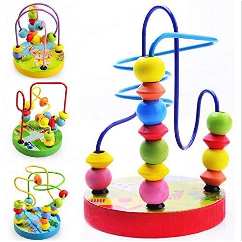 Hot Mini Assemblage Orbit The Maze for Montessori Educational Toys Wooden Building Blocks Juguetes Educativos Baby