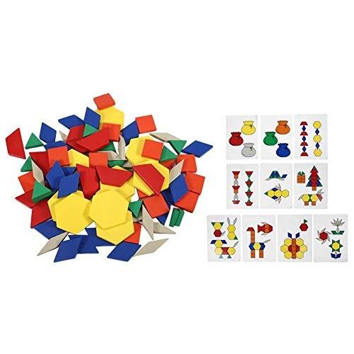 wosume Puzzle Toy Children Wooden Interactive Brain Development Educational Building Block