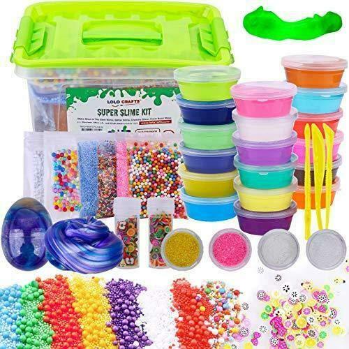 DIY Slime Kit Supplies Kids Ready Slimes Making Kits Craft for Child bigs e Biz