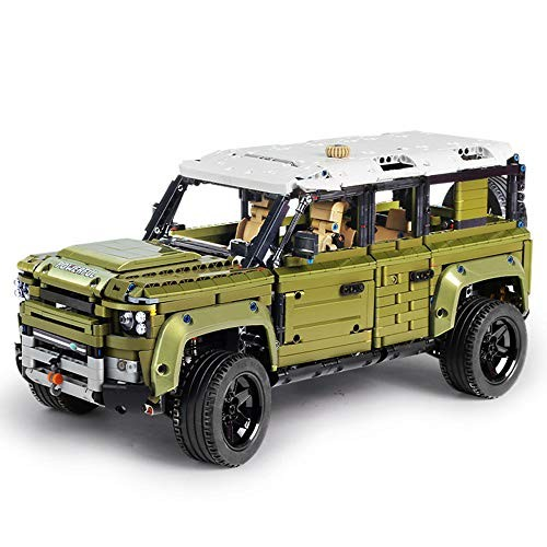 QJxF Off-Road Rover Vehicle Building Blocks Children's Creative Small Particles Puzzle Education Assembling Spelling Simulation Model Block Toys for Boys and Girls
