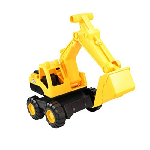 NUOBESTY Beach Sand Truck Toys Excavator Model Sandbox Trucks Vehicles Engineering Educational Excavator