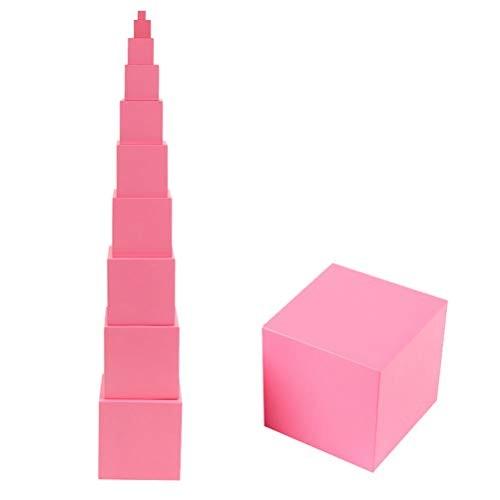 Pink Tower Building Blocks – Nesting Cube