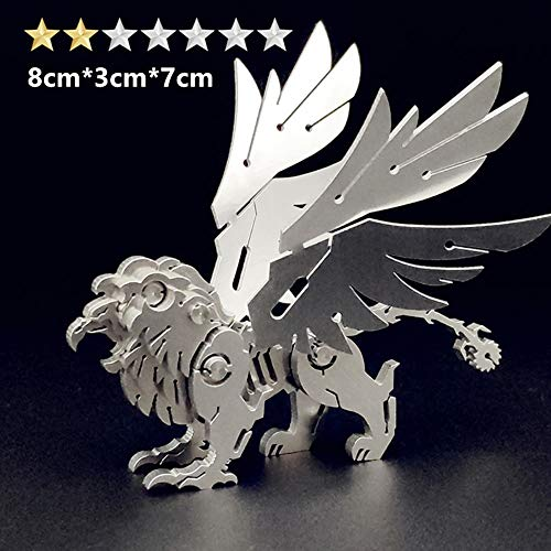 Puzzles xMYY 3D Brain Teaser for Adults Challenge Griffon Craft Kits Gifts Men as Hobbies