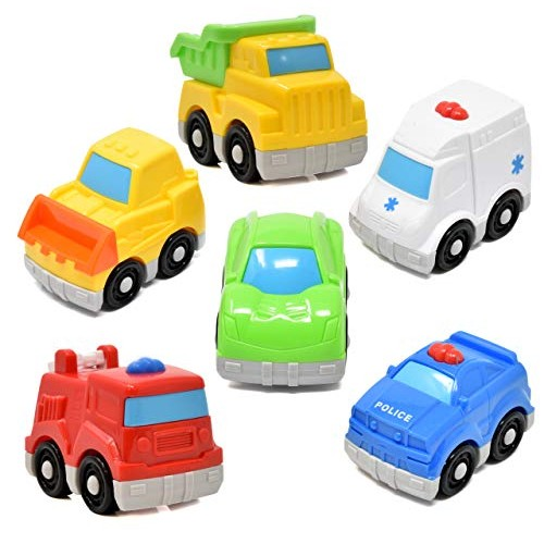 Number 1 in Gadgets Mini Toy Vehicles for Toddlers 6 Pack Dump Truck Car