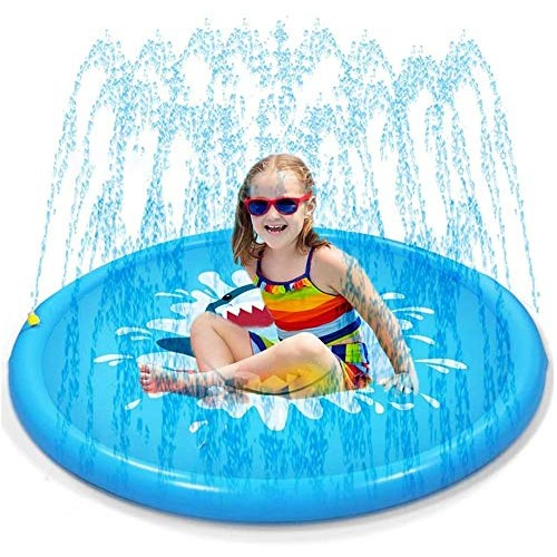 Sprinkler Splash Pad Outdoor Children's Fountain Swimming Pool Wading Water Toys for Babies and