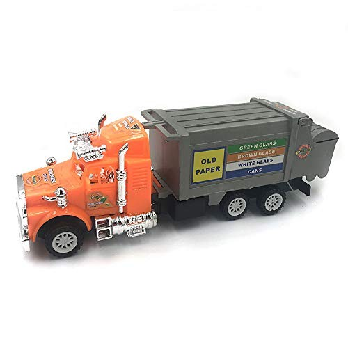 MOOMKEY 4 Styles Mini Inertia Plastic Construction Vehicle Engineering Cars Excavator Model Toys for Children Boys Gift