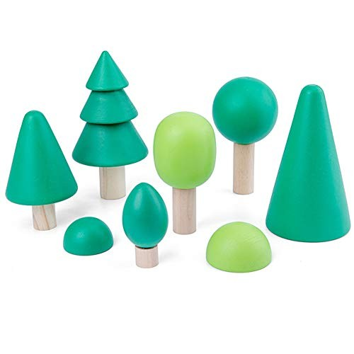Alician Baby Building Blocks Toys Wooden for Kids Children Educational Toy Forest Tree Kid