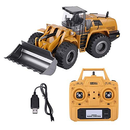Zerodis RC Shovel Loader 24G 1 14 Electric Truck Remote Control Model Excavator Engineering Vehicle for Kids