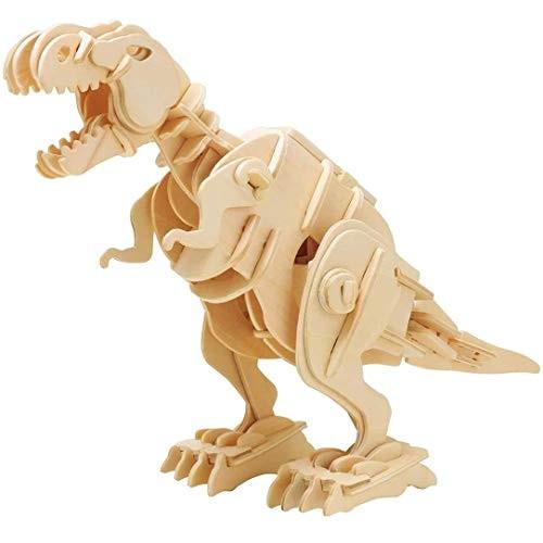 Sound Control Robot Wooden Kinetic T-Rex Model Kit by Robotime