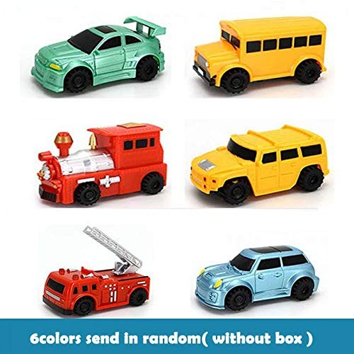 Magic Pen Inductive Car Truck Tank Follow Any Drawn Black Line Track Mini Toy Engineering Vehicles Educational for Kids Car-N
