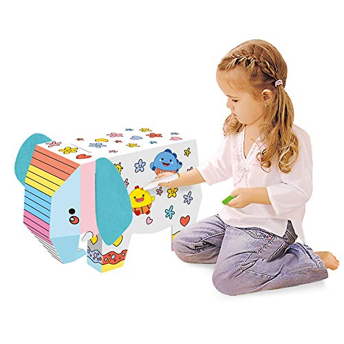JMFHCD Elephant Paper 3D Puzzle Animal Craft Kit for Kids and Adults Birthday Gift Party Favor Origami Enthusiasts