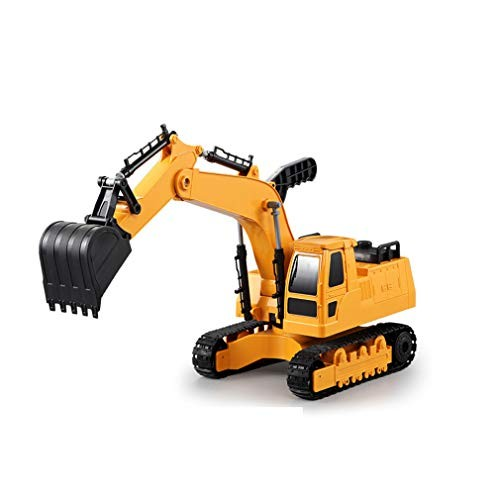 LTLWL Metal Diecast Digger Excavator Construction Follow The Real Car Ratio Simplify Details But Retain Overall Structure Choose Mainstream Engineering Vehicles Color Matching