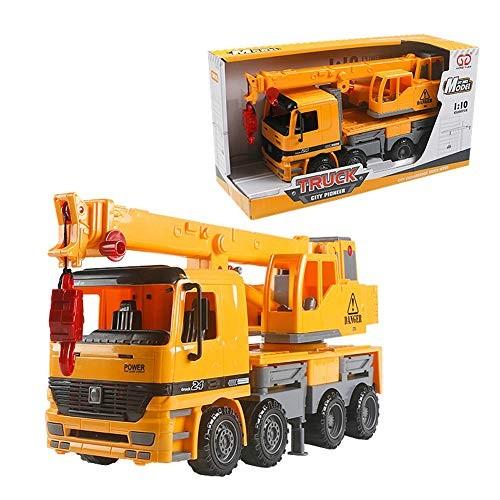 ocijf179 Simulation Telescopic Crane Truck Engineering Vehicle Model Kids Education ToyPerfect Training Children's Intelligence Gifts