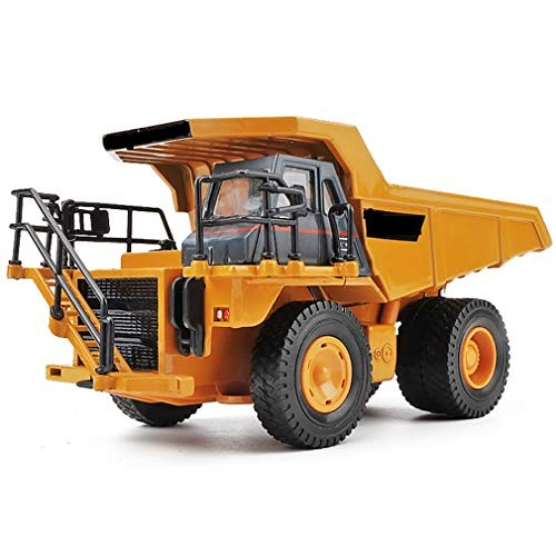 Alloy Dump Truck Looks Like an Actual Engineering Vehicle in Real Life The Delicate and Meticulous Appearance Highly Simulated Details Make Toy More Attractive to Children
