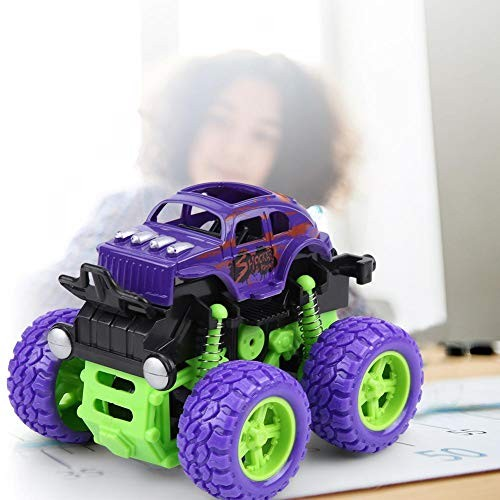 RC Car Toy Model Children Inertial Four-Wheel Drive Crosses-Country Car Pull-Back Model Vehicle Toy