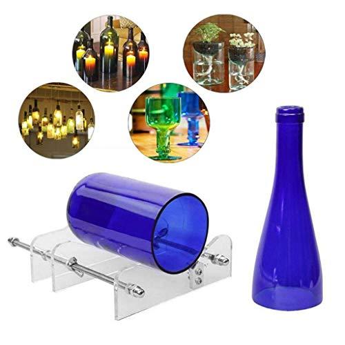 Glass Bottle Cutter Kit DIY Crafts Wine Beer Bottles Jars Cutting Machine Tool Artworks Tools Clear